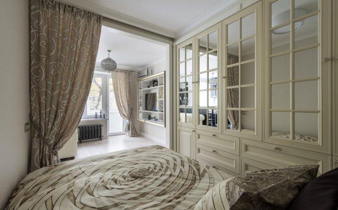 Арт-деко в интерьере однокомнатной квартиры 29 кв. м
