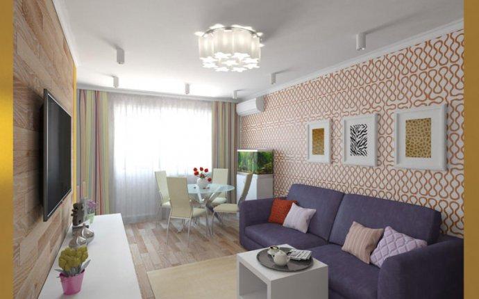 интерьер 2-комнатной квартиры