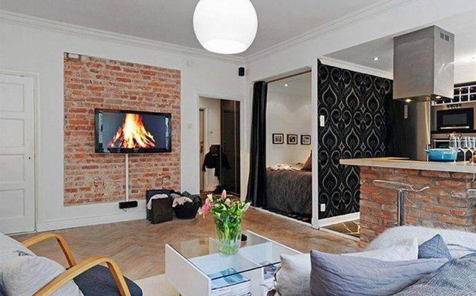 Лучшие дизайны квартир студий
