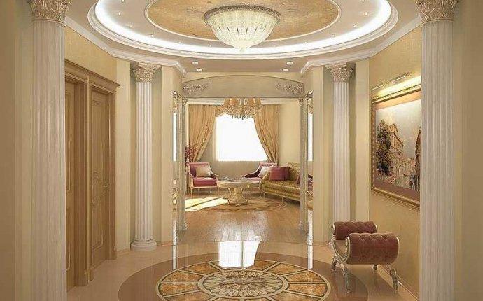 интерьер дома в классическом