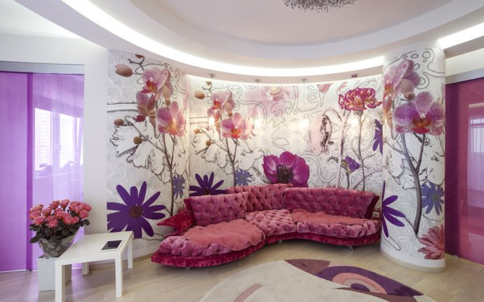 Квартира недели: розовая