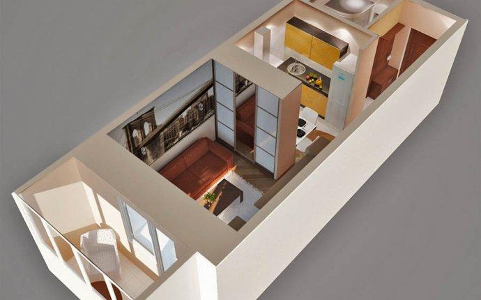 Дизайн проекты квартир студий