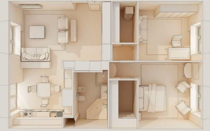 3D планировки (см. пример)